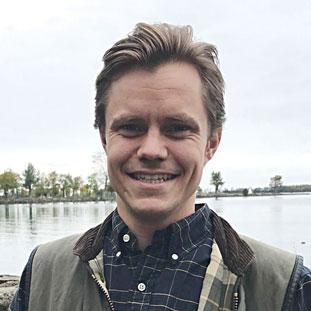 Portrait of Gustav Andersson