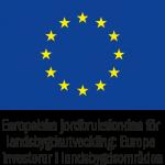 "EU flag ""Jordbruksfonden"""