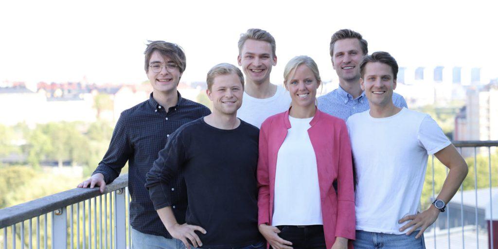 Team members, Jason, Joel, Jacob L, Felicia, Niklas and Jacob M